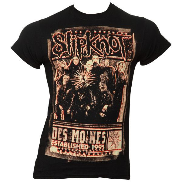 Slipknot - T-Shirt Blurred - schwarz