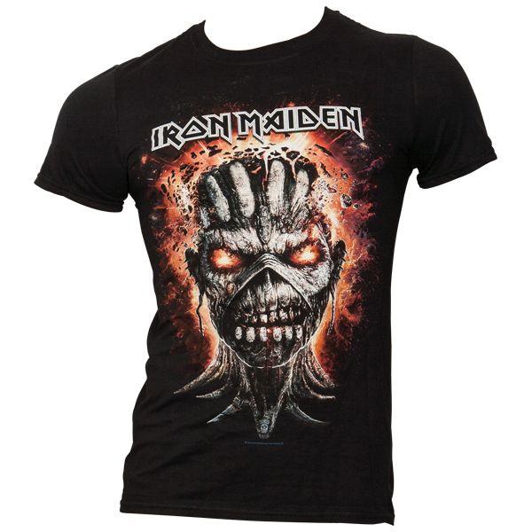 Iron Maiden - T-Shirt Eddie Exploding Head - schwarz