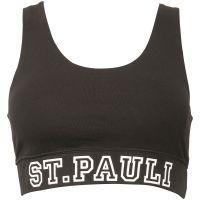 FC St. Pauli - Sport BH Work-Out Totenkopf - schwarz