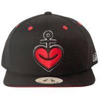 Astra - Snapback Herzanker Cap - schwarz