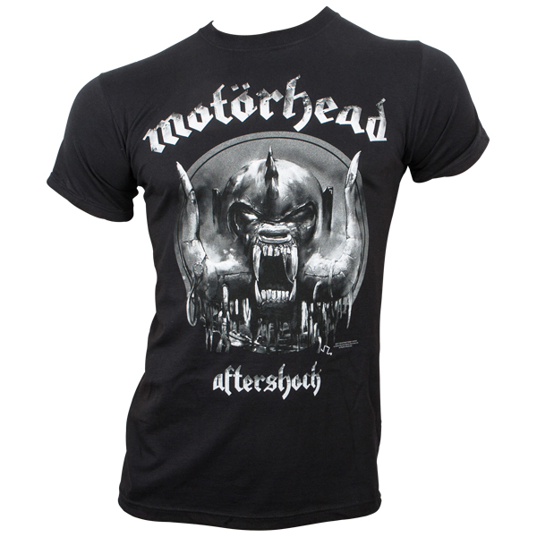 Motörhead - T-Shirt Aftershock - schwarz