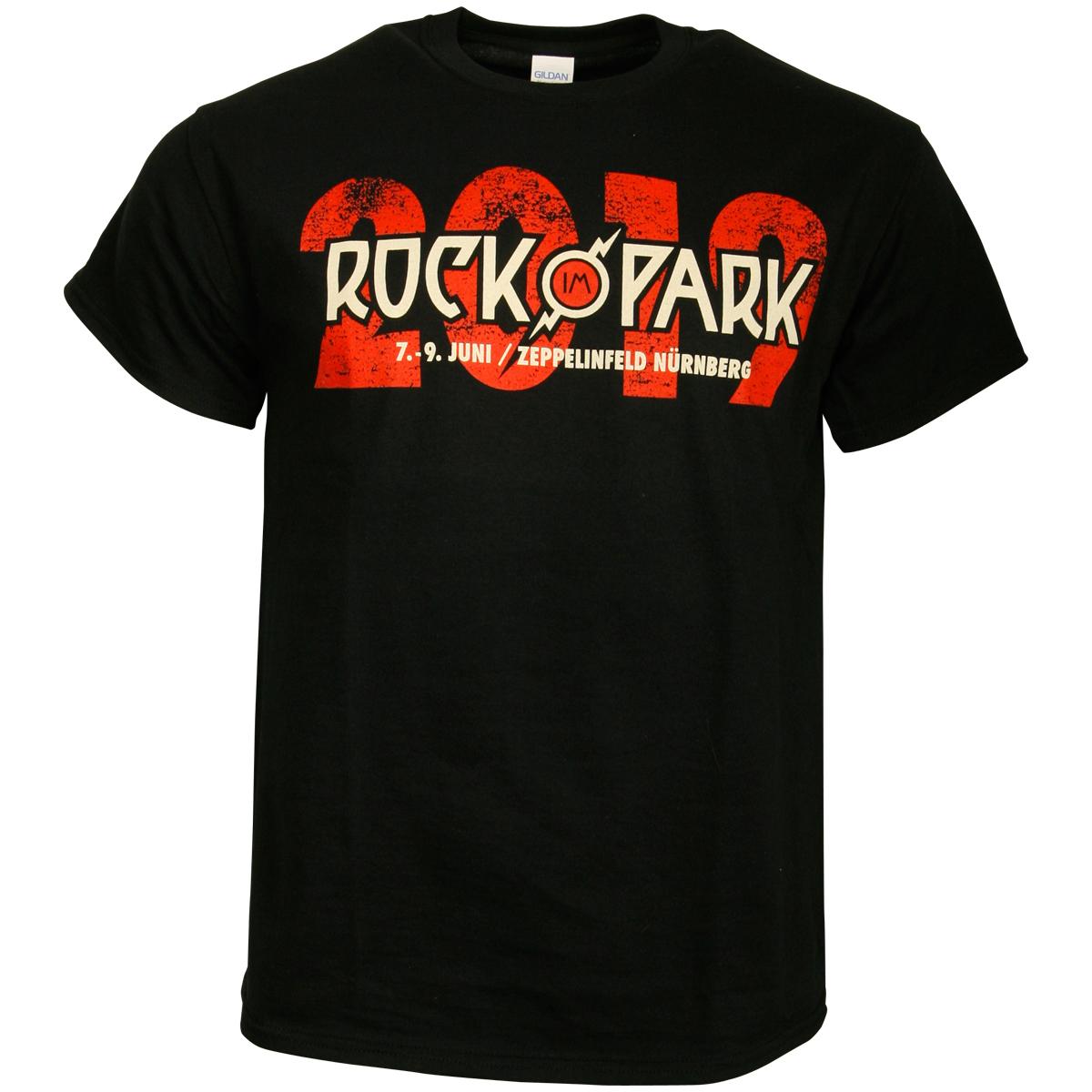 Rock im Park 2019 - T-Shirt Festival - schwarz