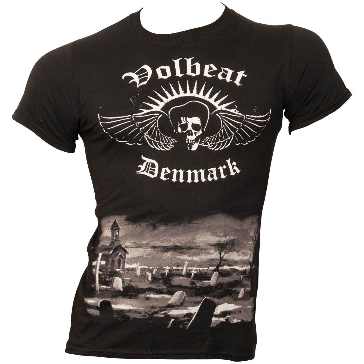 Volbeat - T-Shirt Graveyard - schwarz