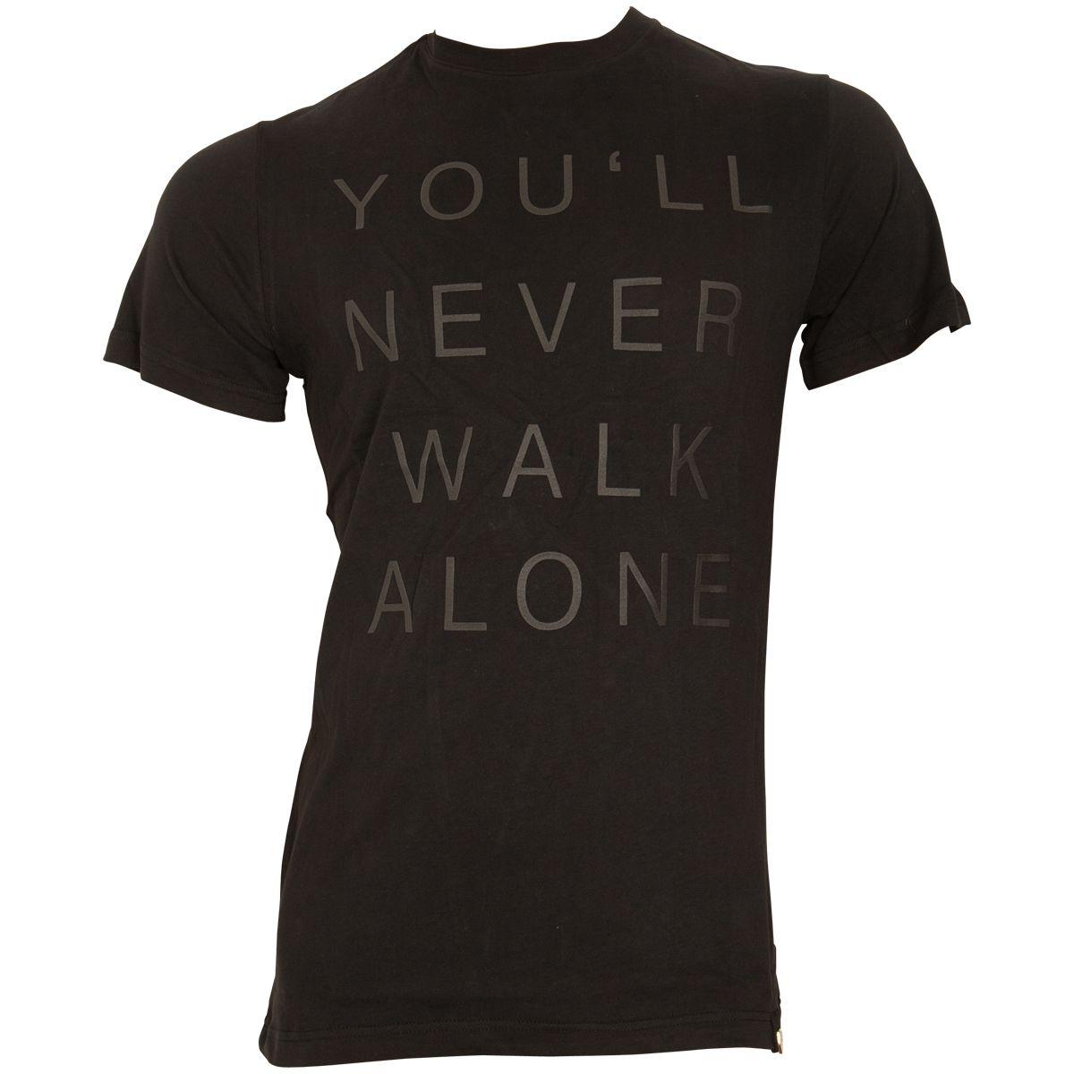 FC St. Pauli - T-Shirt Black Black Gold - schwarz