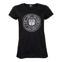FC St. Pauli - Damen T-Shirt Stein Comic - schwarz
