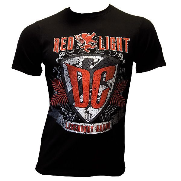 Red Light DC - Legendary Brand - T-Shirt - schwarz