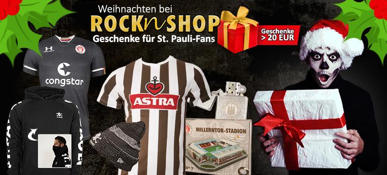 Weihnachtsgeschenke vom FC St. Pauli ab 20 EUR