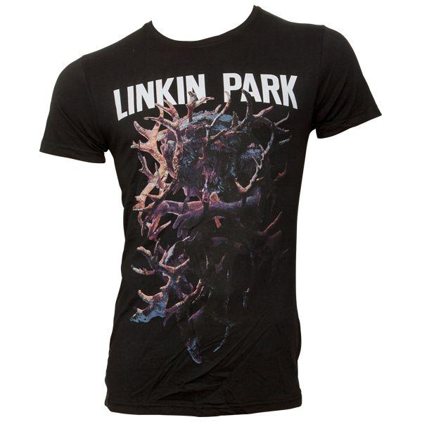 e500a10a8589 Linkin Park - T-Shirt Heart - black