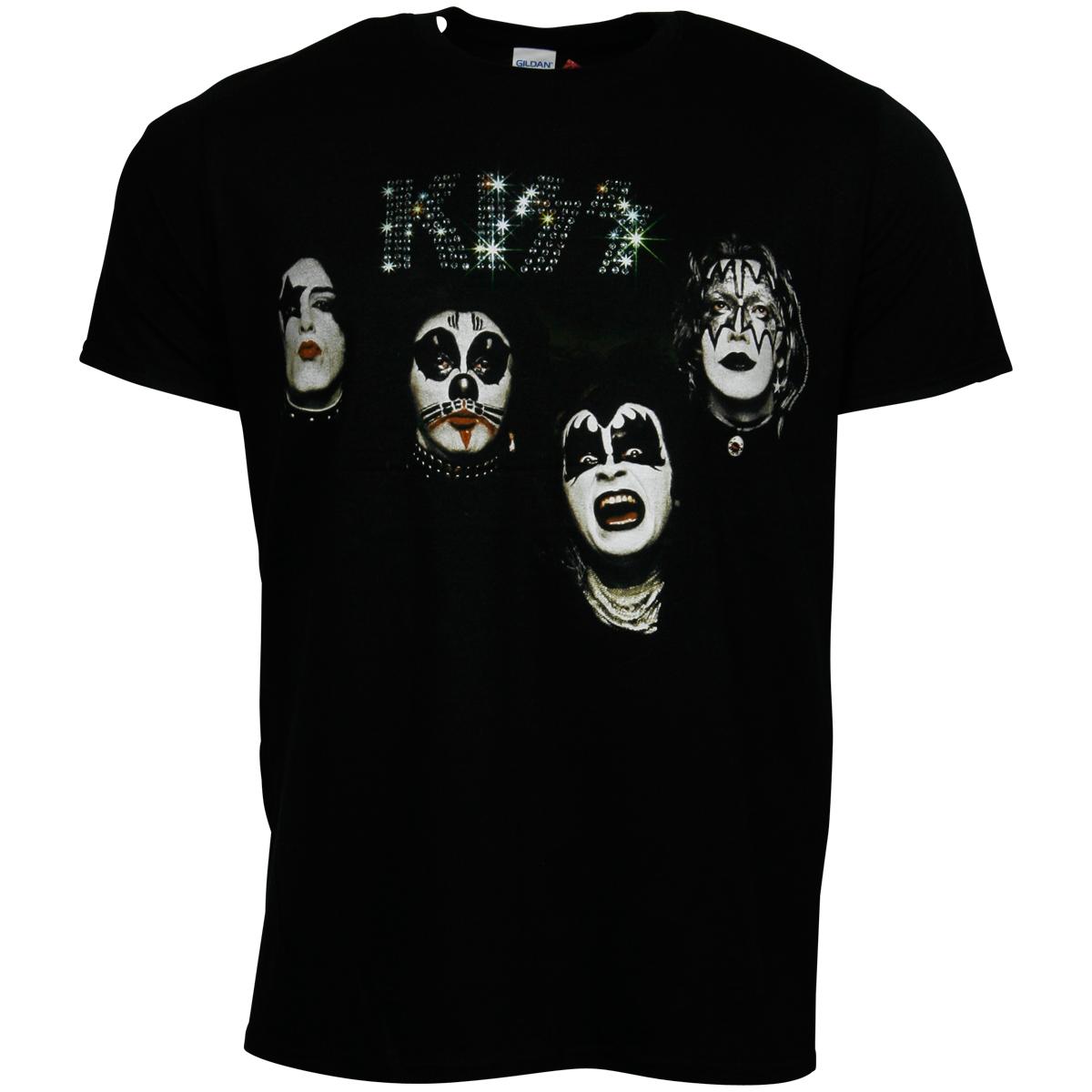 Kiss - T-Shirt 1974 - schwarz