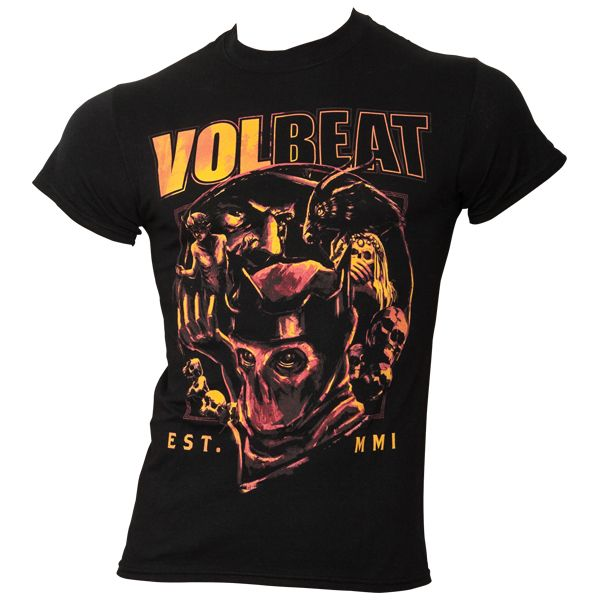 Volbeat - T-Shirt Circle Of Death - schwarz