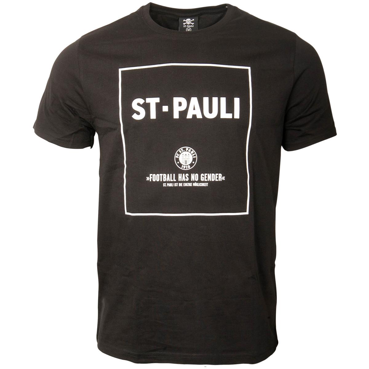 FC St. Pauli - T-Shirt No Gender - schwarz