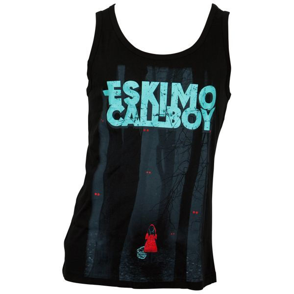 Eskimo Callboy - Tank Top Deep In The Woods - schwarz