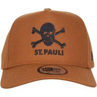 FC St. Pauli - Cap New Era Snapback Totenkopf - kupfer
