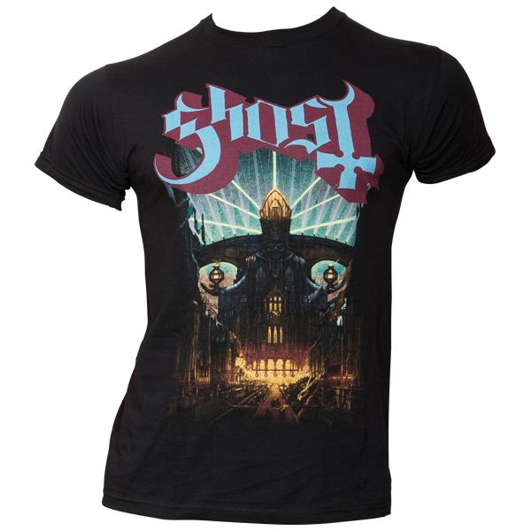 Ghost - T-Shirt Meliora - schwarz