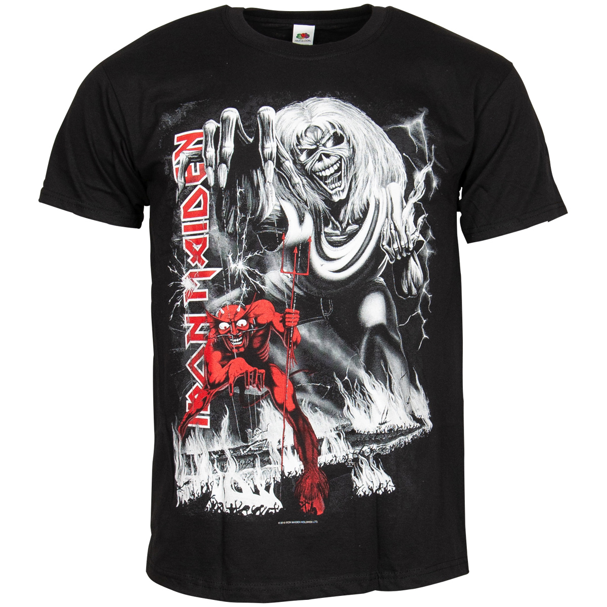 Iron Maiden - T-Shirt Number Of The Beast Jumbo - schwarz