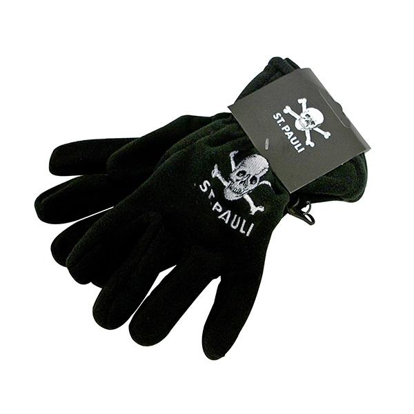 FC St. Pauli - Handschuhe Totenkopf - schwarz