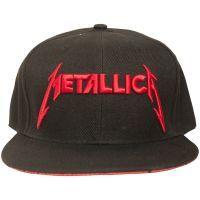 Metallica - Snap Back Cap Red Damage Inc. - schwarz