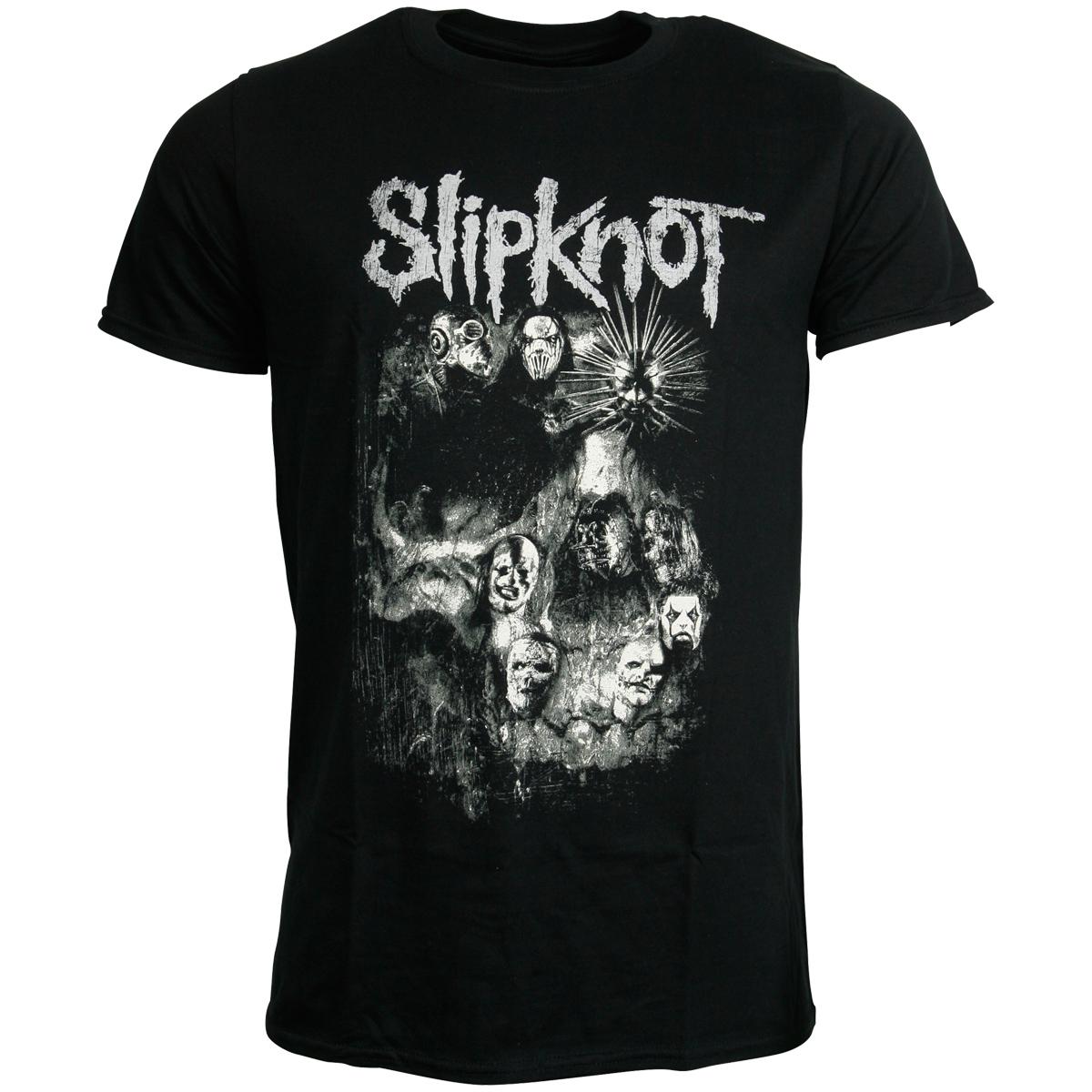 Slipknot - T-Shirt Skull Group - schwarz
