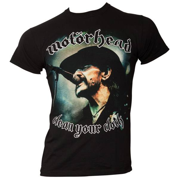 Motörhead - T-Shirt Clean Your Clock - Lemmy - schwarz