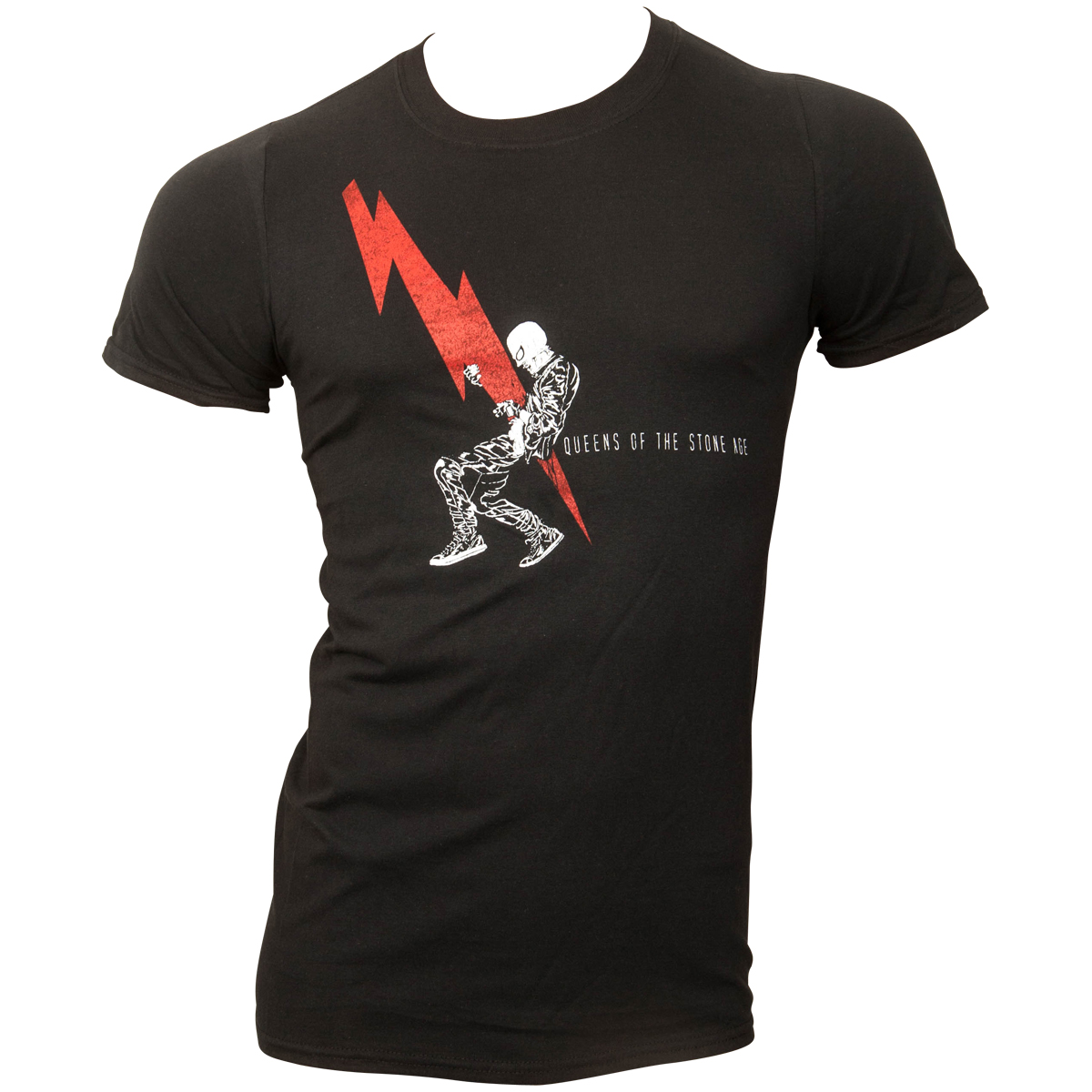 Queens Of The Stone Age - T-Shirt Lightning Dude - schwarz
