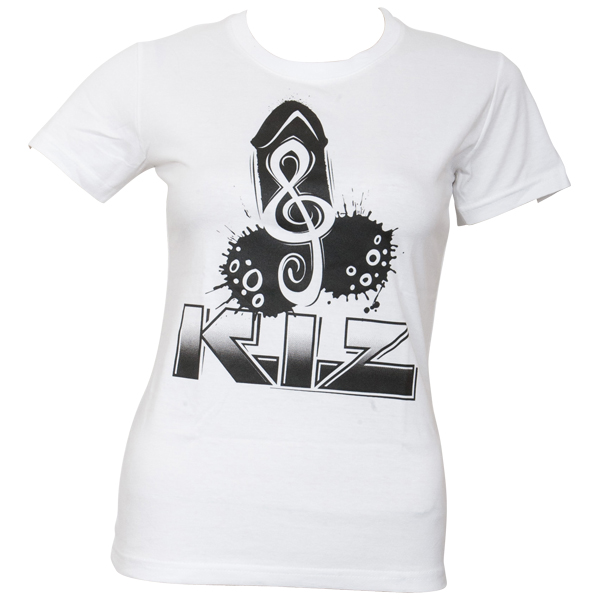 K.I.Z. - Girly T-Shirt Puller - weiß