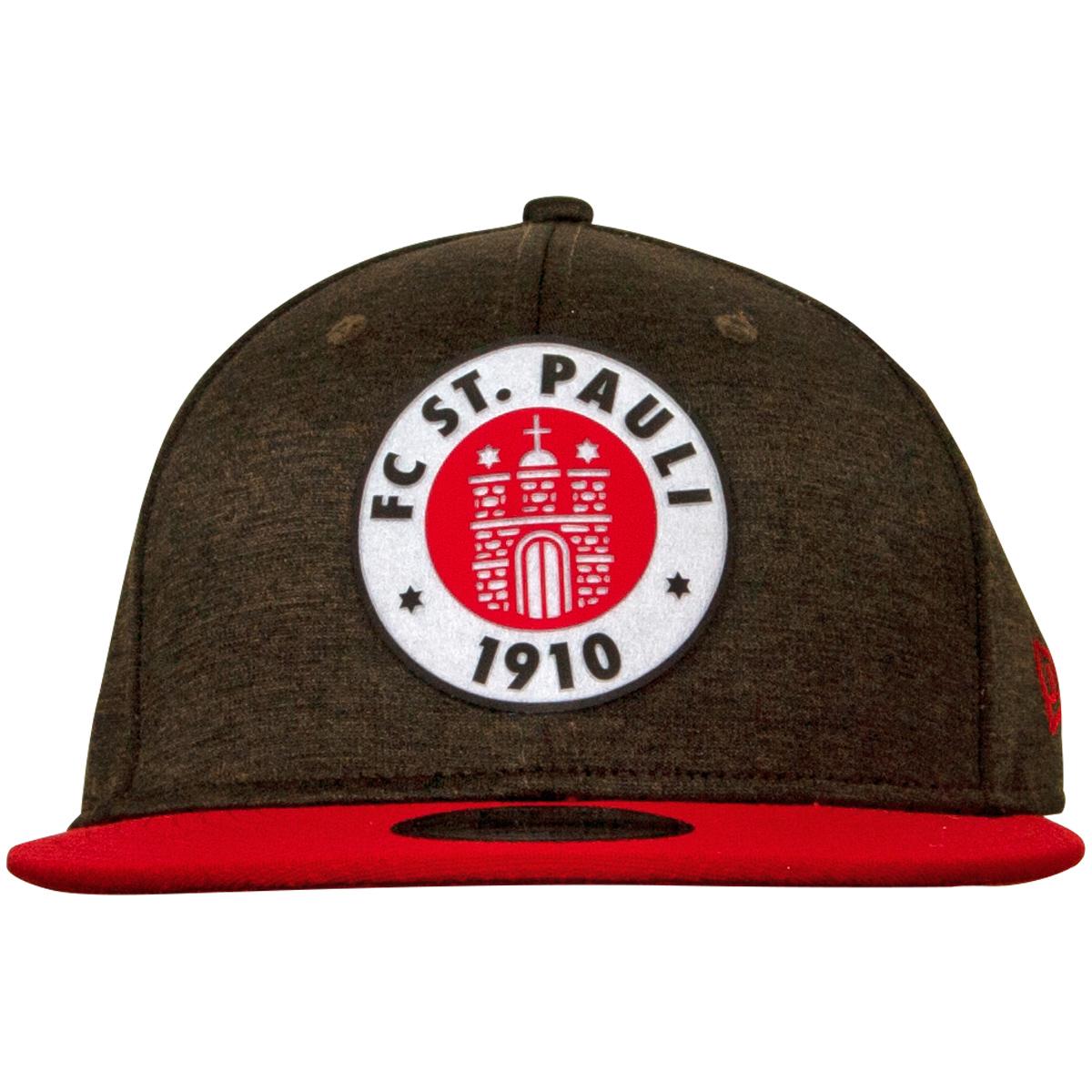 FC St. Pauli - NewEra Kappe Logo Braun-Weiss-Rot