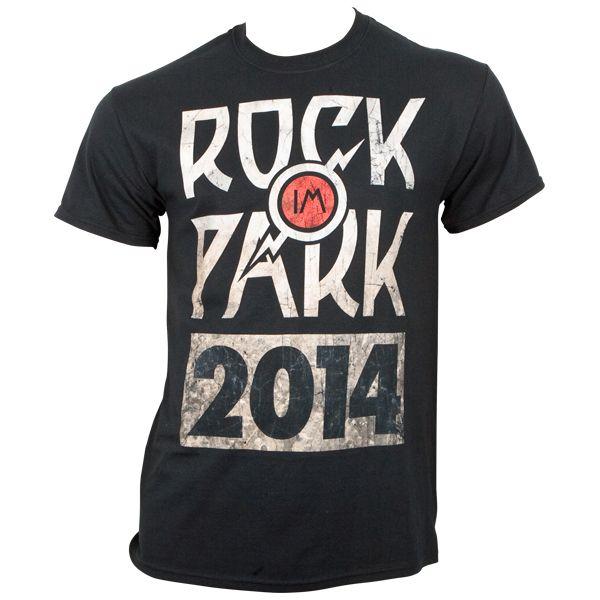 Rock im Park 2014 - T-Shirt Logo - schwarz