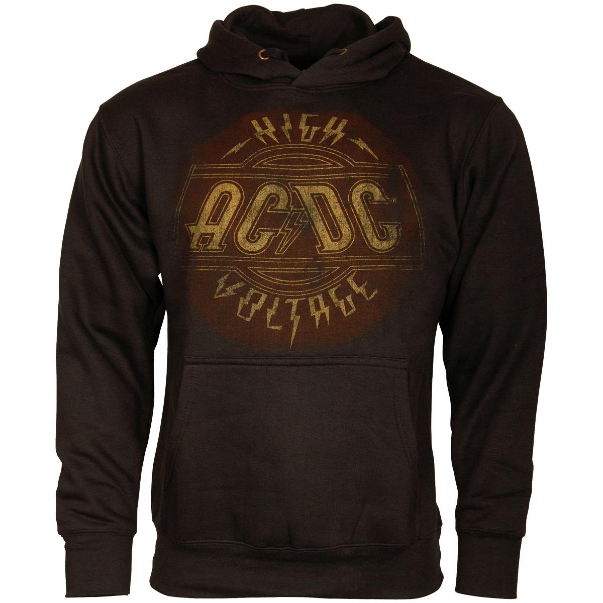 AC/DC - Kapuzenpullover High Voltage - schwarz