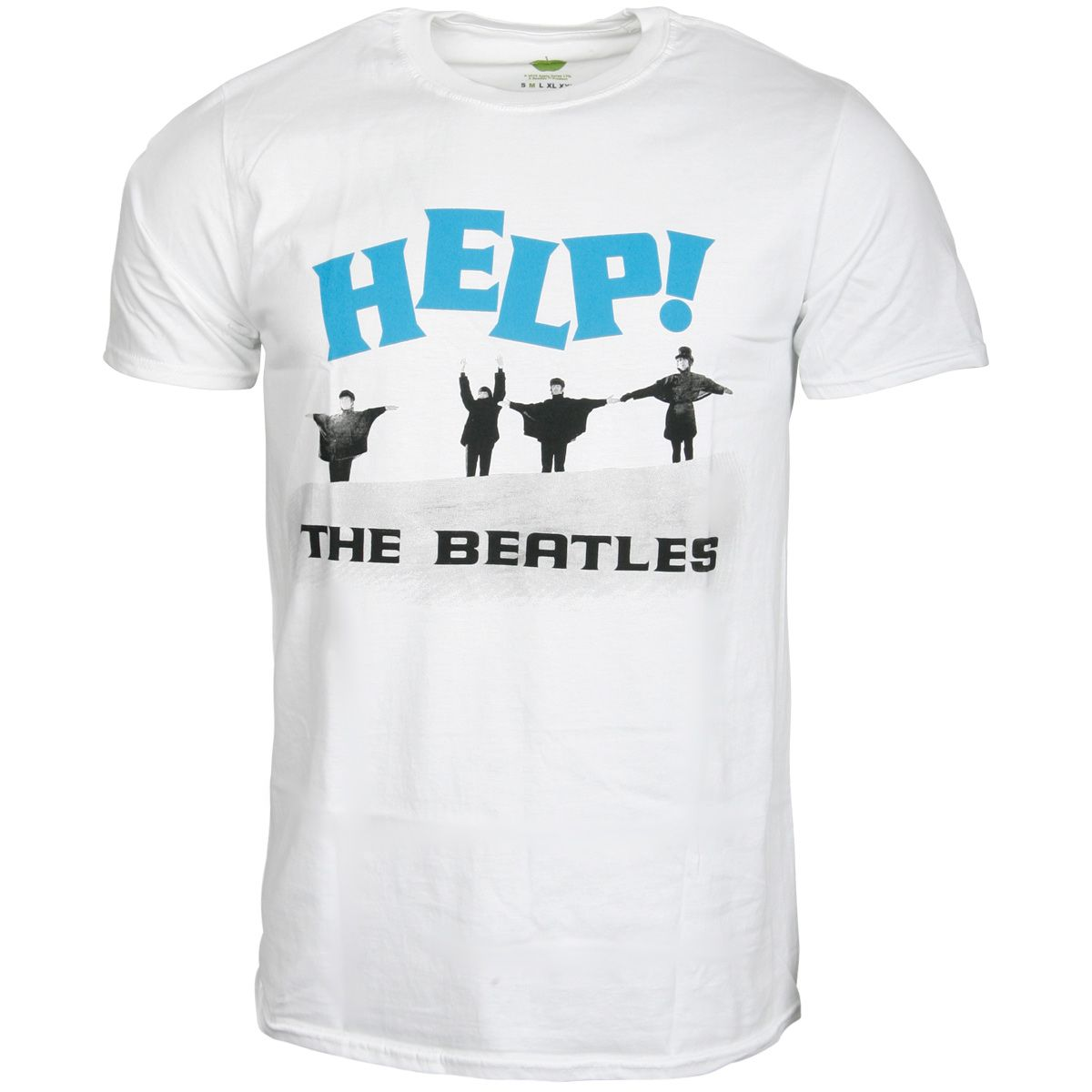 The Beatles - T-Shirt Help! Snow - weiß