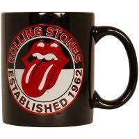 The Rolling Stones - Kaffeebecher Est. 1962 - schwarz