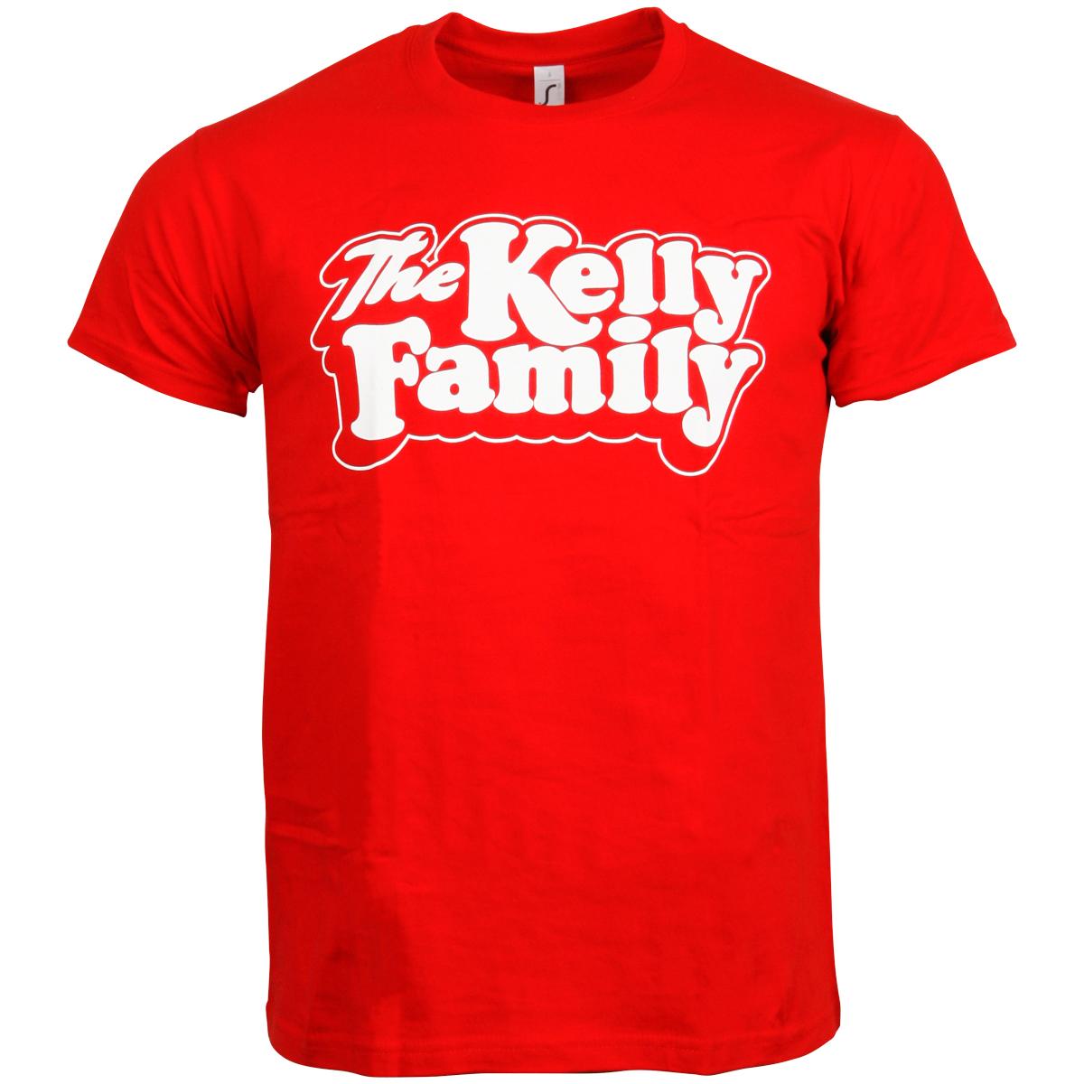 The Kelly Family - T-Shirt Logo - rot