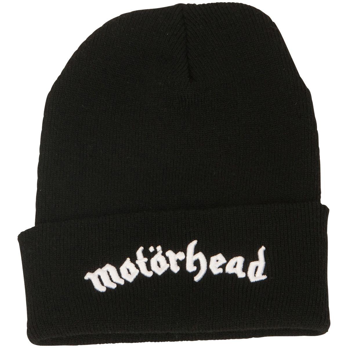 a0a386c939b Motörhead - Black Beanie with Band Logo