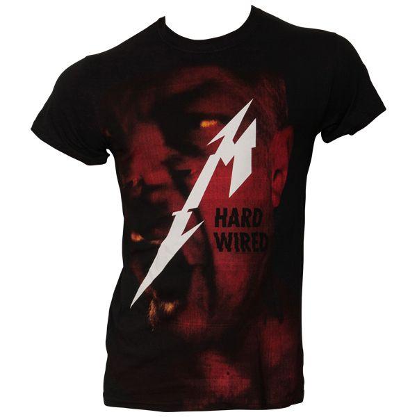 Metallica - T- Shirt Hard Wired - schwarz