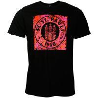 FC St. Pauli - T-Shirt Wirbel Logo - schwarz