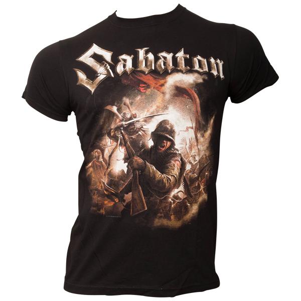 Sabaton - T-Shirt The Last Stand - schwarz