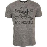 FC St. Pauli - T-Shirt Terry Outline - grau