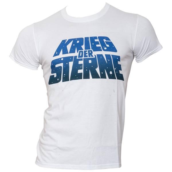 Star Wars - T-Shirt Krieg der Sterne Logo - weiß