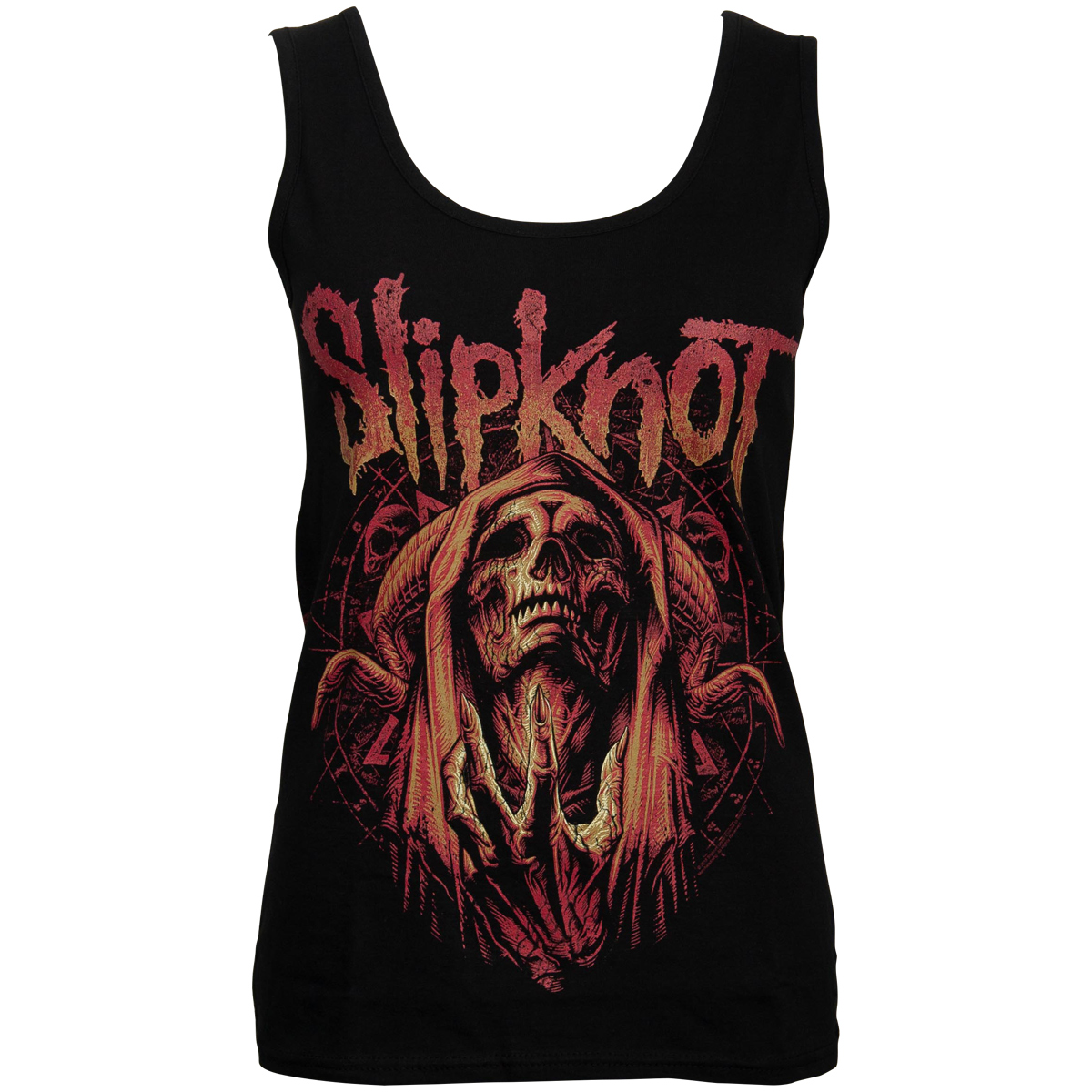 Slipknot - Damen Tank Top Evil Witch - schwarz
