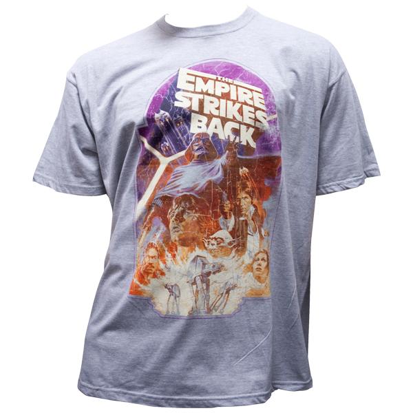 """Star Wars - T-Shirt """"The Empire Strikes Back"""" - grau"""