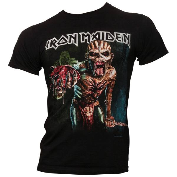 Iron Maiden - T-Shirt Book Of Souls European Tour 2016 - schwarz
