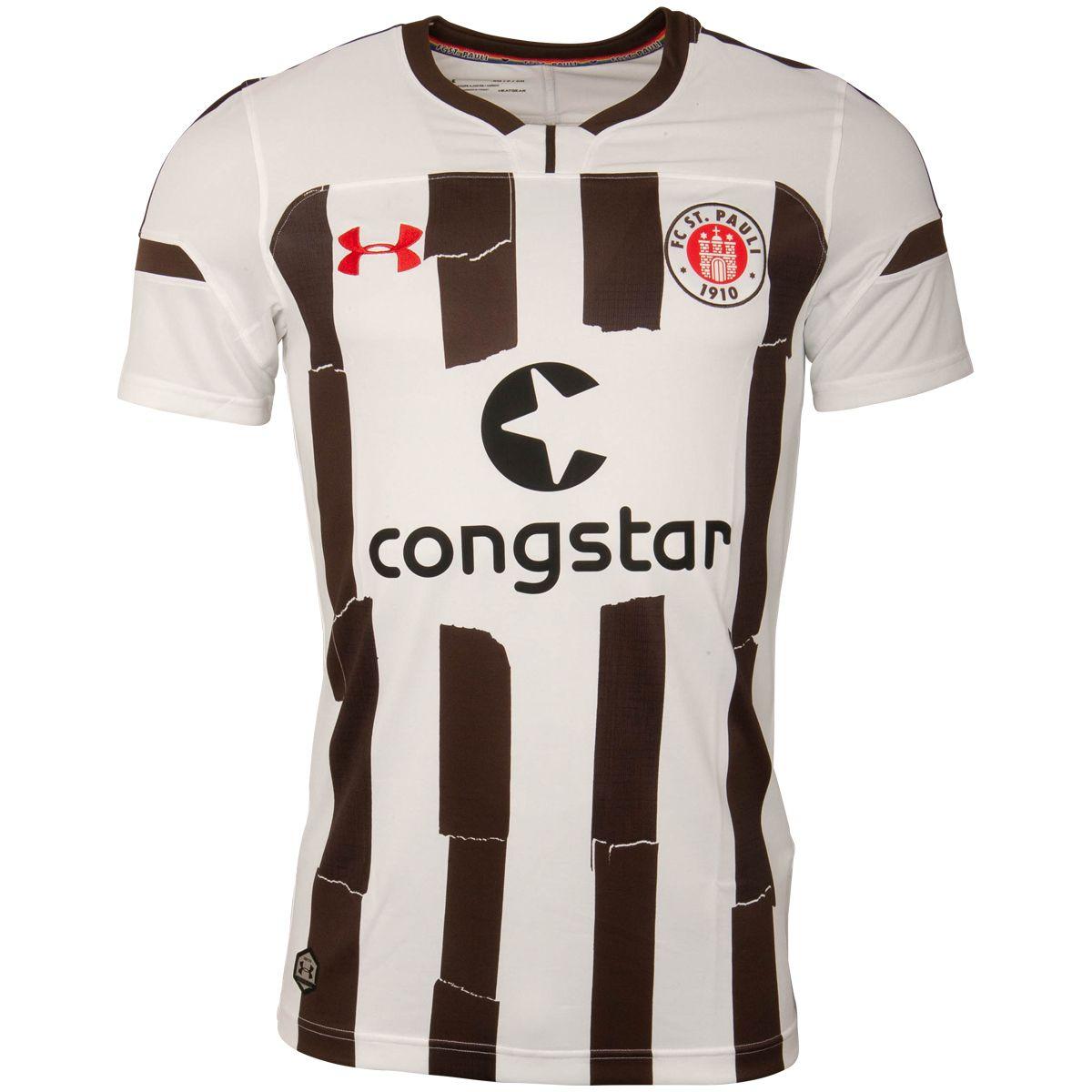FC St. Pauli - Auswärtstrikot 2018-19 - weiß