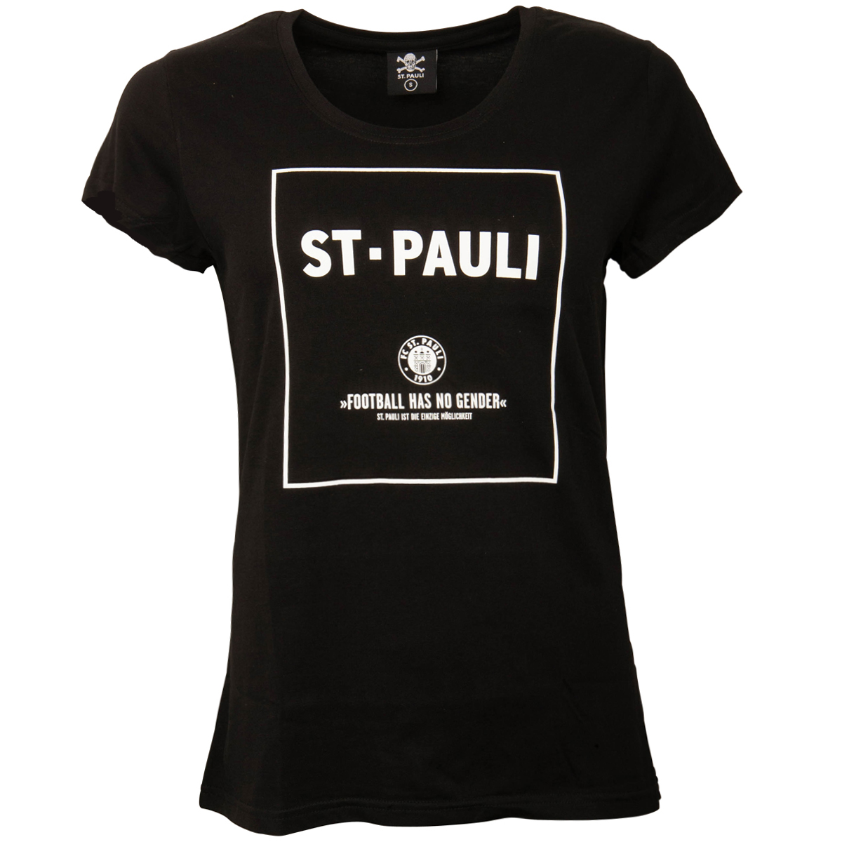 FC St. Pauli - Damen T-Shirt No Gender - schwarz