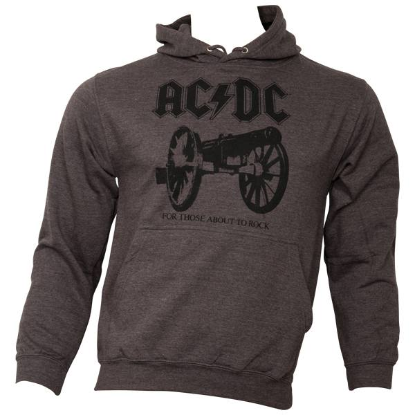 AC/DC - Kapuzenpullover For Those About To Rock - braun