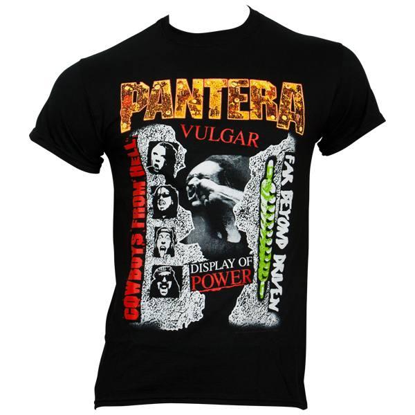 Pantera - T-Shirt 3 Albums 1 Shirt - schwarz