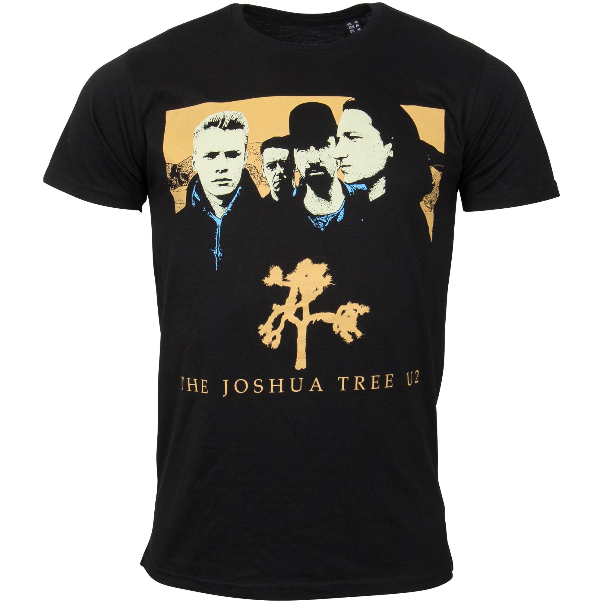 U2 - T-Shirt Joshua - schwarz