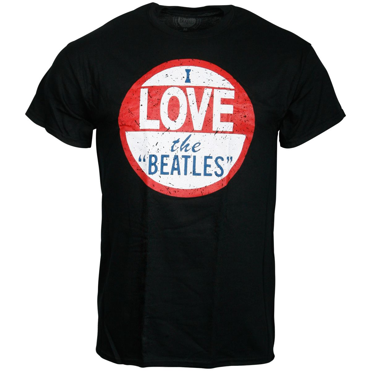 The Beatles - T-Shirt I Love The Beatles - schwarz