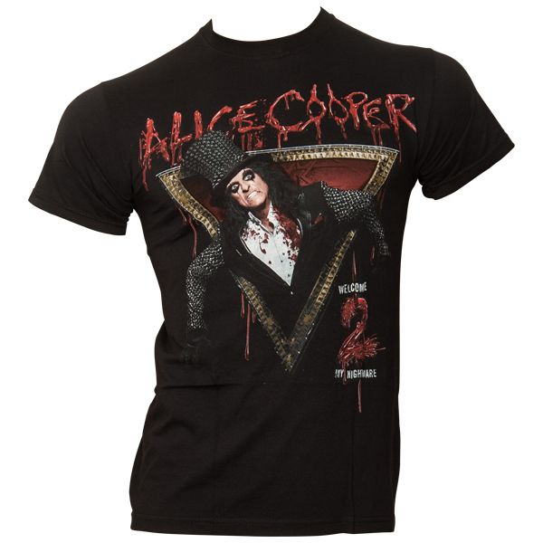 Alice Cooper - T-Shirt Welcome To My Nightmare - schwarz