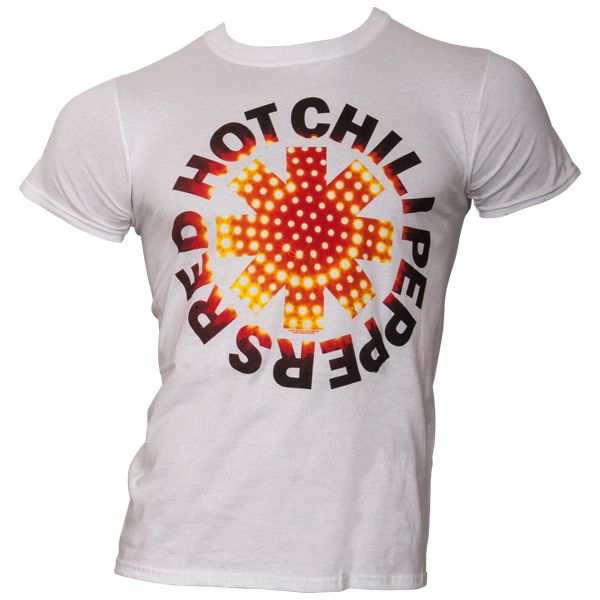 Red Hot Chili Peppers - T-Shirt L.E.D. - weiß
