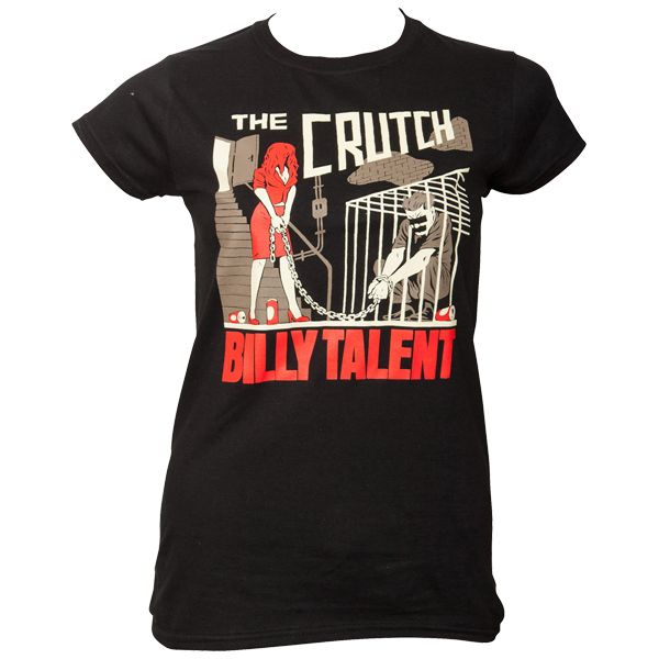 Billy Talent - Frauen T-Shirt The Crutch - schwarz