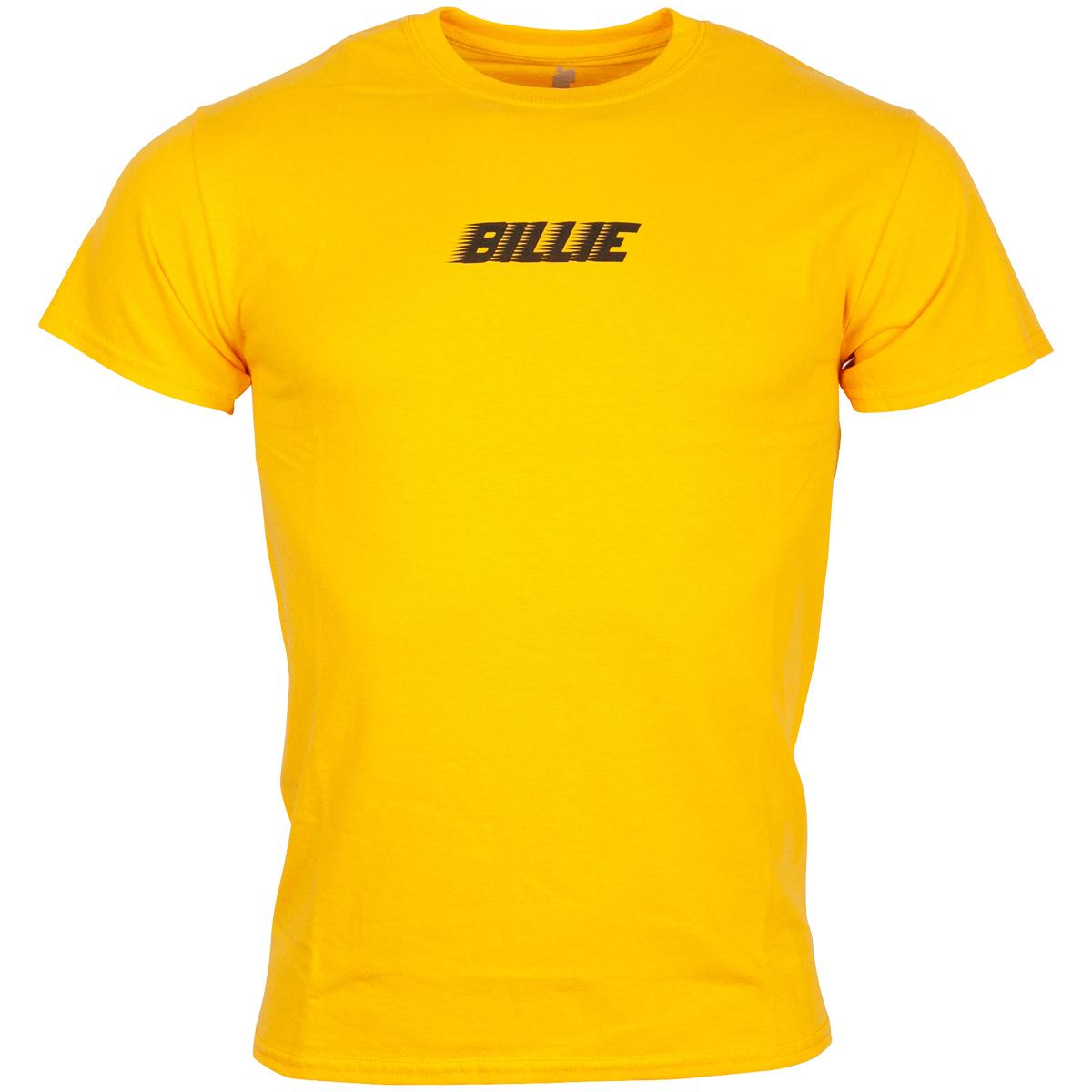 Billie Eilish - T-Shirt Racer Logo BLOHSH - gelb-orange
